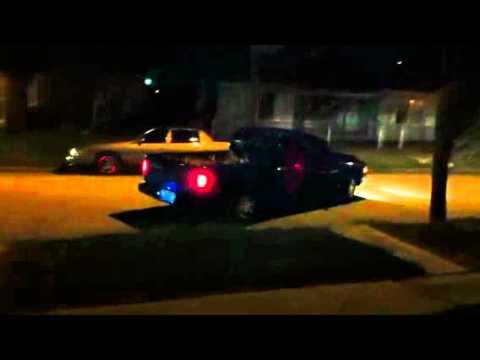 2000 Dodge Dakota V6 Sport Burnout