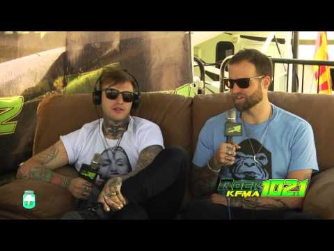 KFMA Day 2016 Highly Suspect Interview with Creepy Pete