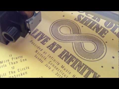 Live At Infinity album covers: making of