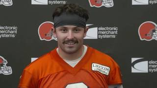 Baker Mayfield wants to play the entire first half vs. Bucs - MS&LL 8/23/19