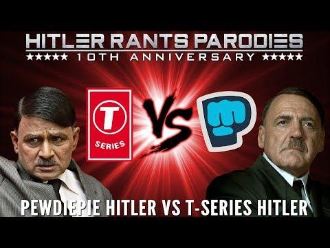PewDiePie Hitler Vs T Series Hitler: Episode I