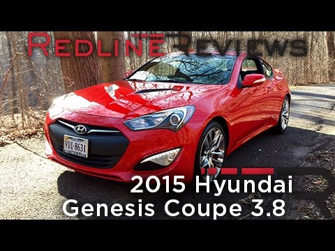 2015 hyundai genesis coupe 3 8 redline review youtube. Black Bedroom Furniture Sets. Home Design Ideas