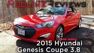 2015 Hyundai Genesis Coupe 3.8 Redline Review