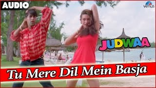 Judwaa : Tu Mere Dil Mein Basja Full Audio Song With Lyrics | Salman Khan, Karishma Kapoor, Rambha |