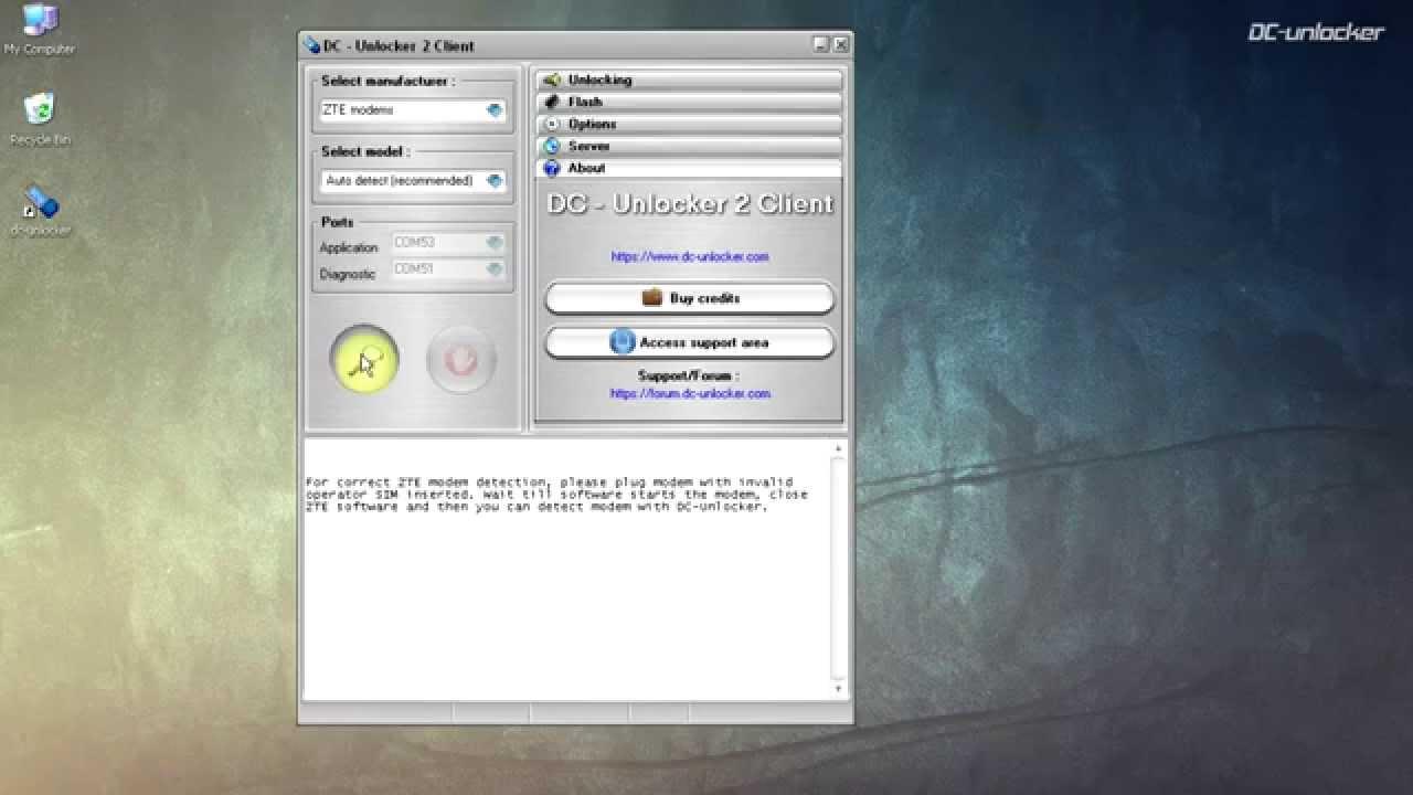 ZTE MF975 | 305ZT Unlock tutorial by DC-Unlocker