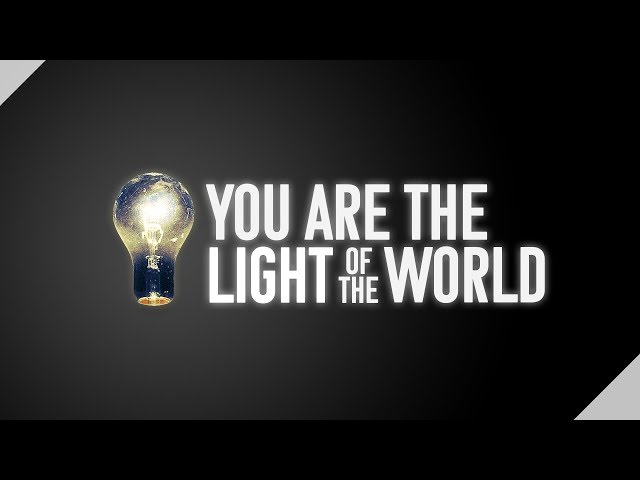 March 18, 2018: Travis Lacey - You are the Light of the World
