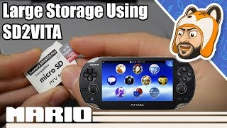Tips for Using Large microSD Cards on SD2Vita | 256 GB & Higher Setup!