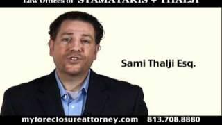 Foreclosure Defense Attorney, Personal Checking Account, Florida
