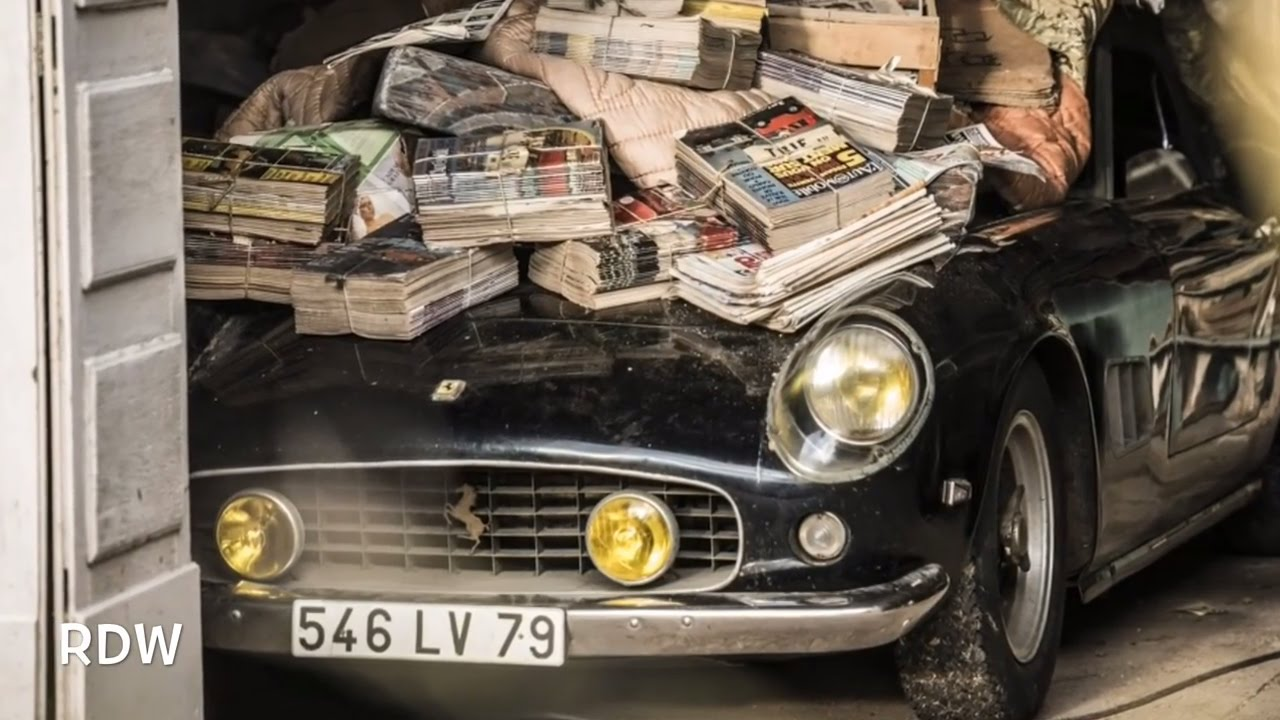 Sixty Rare Classic Cars Found In Abandoned French Barn 𝕃𝕀𝕂𝔼 - Cool french cars