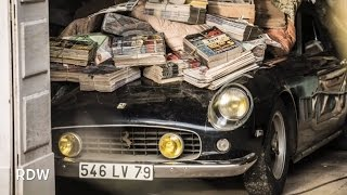 Sixty Abandoned Classic Cars Found In French Barn, 2014 Barn Find!