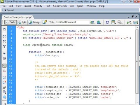 Php smarty template engine tutorial part 1 php training.