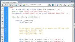 PHP Templating Using Smarty