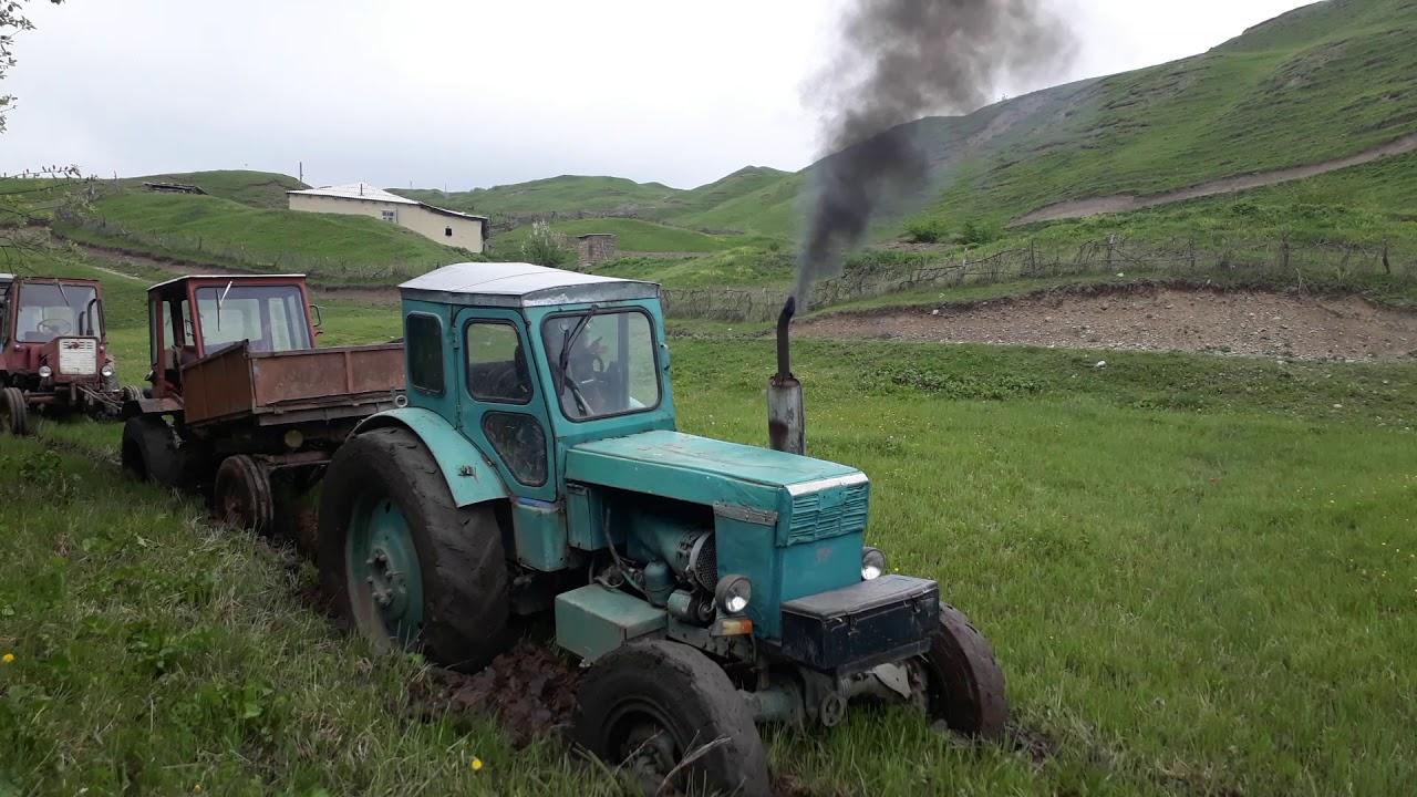 #Трактор T-40 Гряземес. Пытаемся добраться до скважины