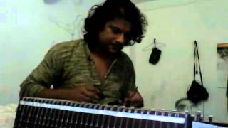 raag kirvani on santoor