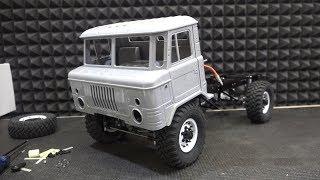 ШИШИГА ... Собираю ГАЗ-66 на радиоуправлении, CrossRC GC4