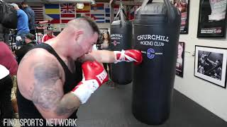 ANDY RUIZ POWER & SPEED WANTS ANTHONY JOSHUA ON JUNE 1st FILLING IN FOR BIG BABY MILLER
