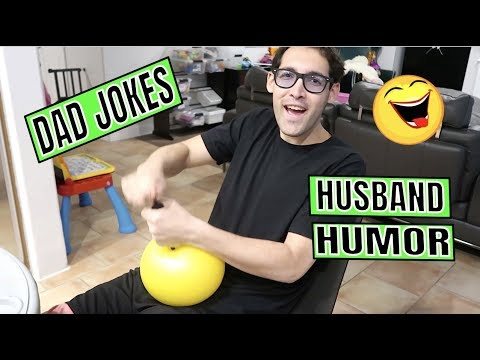 DAD JOKES AND HUSBAND HUMOR || LIFE WITH JACKIE