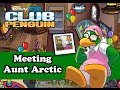 Club Penguin - Meeting Aunt Arctic Anniversary Party October 2013