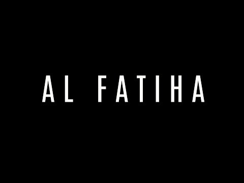 APPRENDRE AL FATIHA - SOURATE