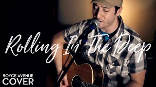 Repeat youtube video Adele - Rolling In The Deep (Boyce Avenue acoustic cover) on Apple & Spotify
