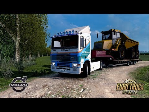 ETS2 1.30 Open Beta - Volvo F16 - Luxembourg to Clermont Ferrand