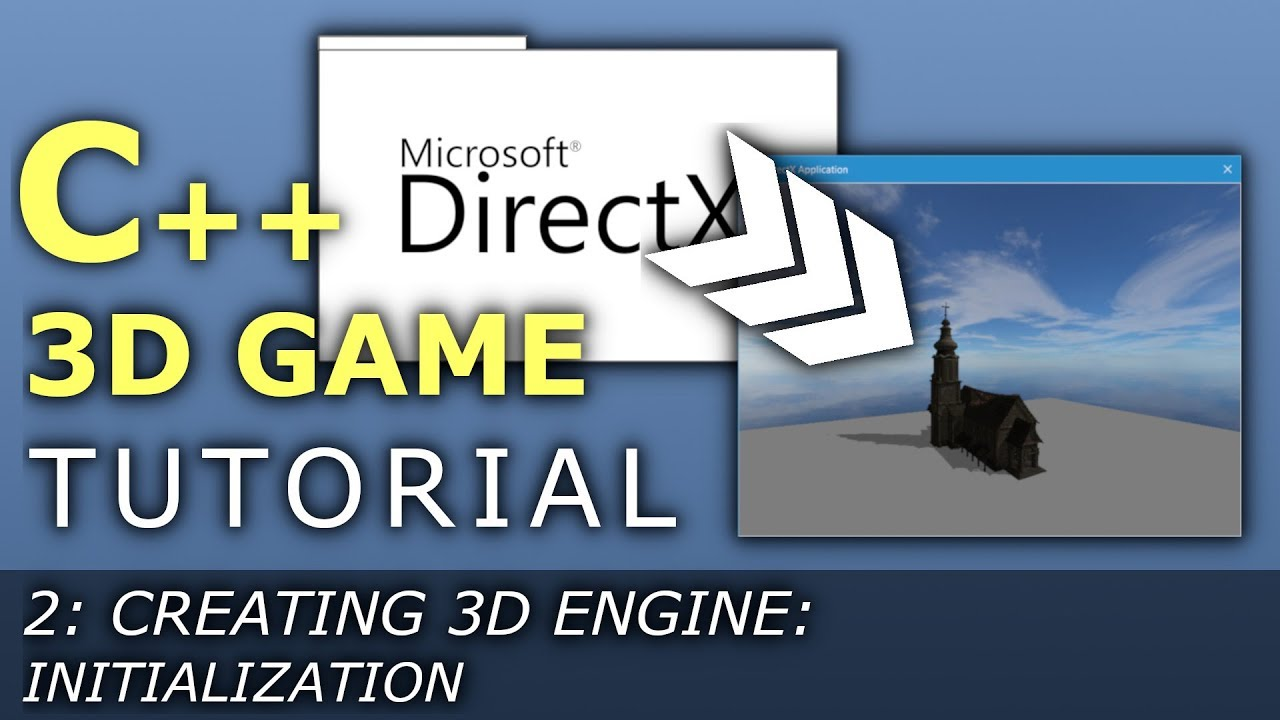 C++ 3D Game Tutorial 2: Creating 3D Engine - Initialization