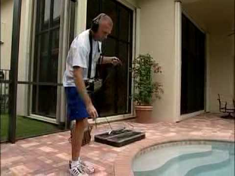 See how Florida Leak Locators perfoms a leak test on your po