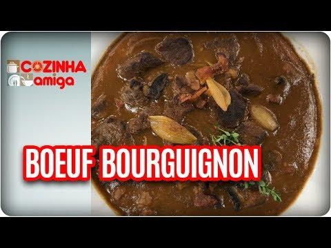 Boeuf Bourguignon - Raquel Novais| Cozinha Amiga (04/11/17)