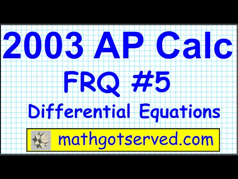 2003 ap calculus frq free response question ab bc #5 a coffee pot has the shape of a cylinder with r