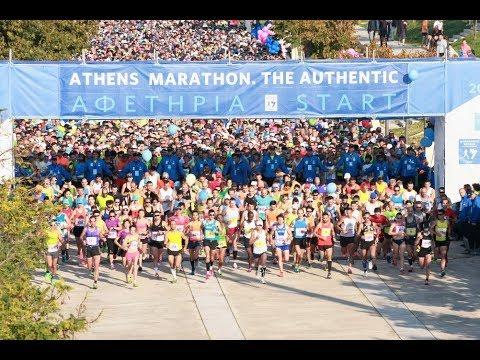 Visit Greece | 35th Athens Marathon. The Authentic-Promo Video (English)