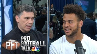 Michael Pittman Jr. leaning on dad's draft advice (FULL INTERVIEW) | Pro Football Talk | NBC Sports