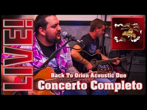 INTERACTIVE VIDEO!! Back To Orion - Acustic Duo - Full Concert