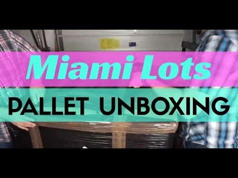 Miami Lots Pallet Unboxing & Review!