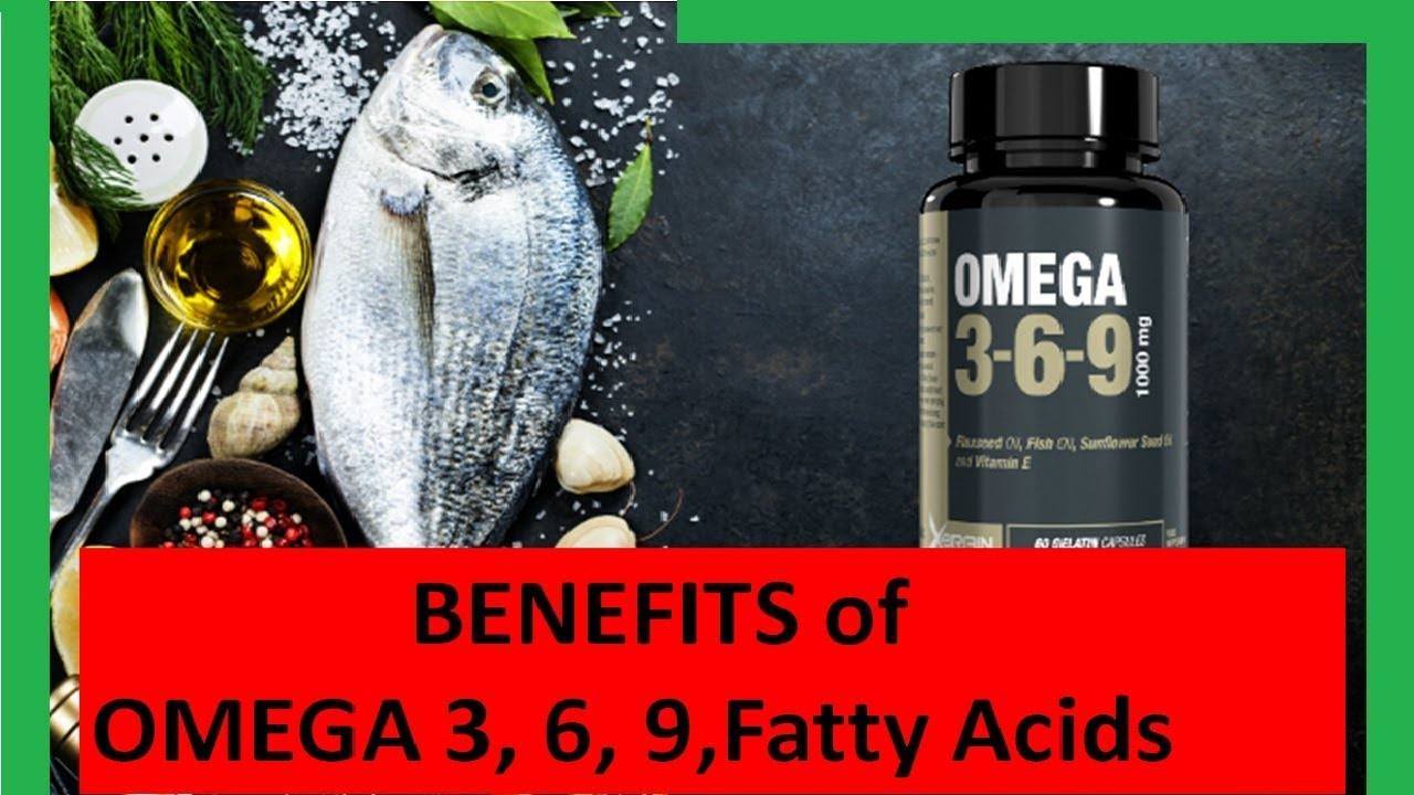 Omega 3 6 9 benefits and side effects
