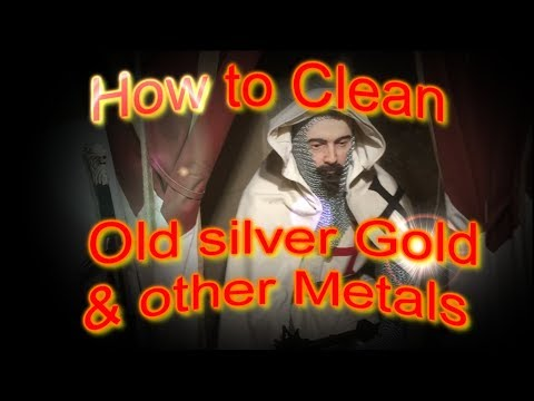 .Tips and tricks How to Clean old Silver and Gold coins