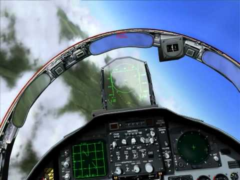 16. F-15C: AIM-120/AIM-7 Auto Acquisition Modes and Home On Jam