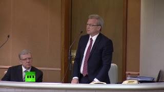 Госдума рассматривает кандидатуру Кудрина на должность председателя Счётной палаты