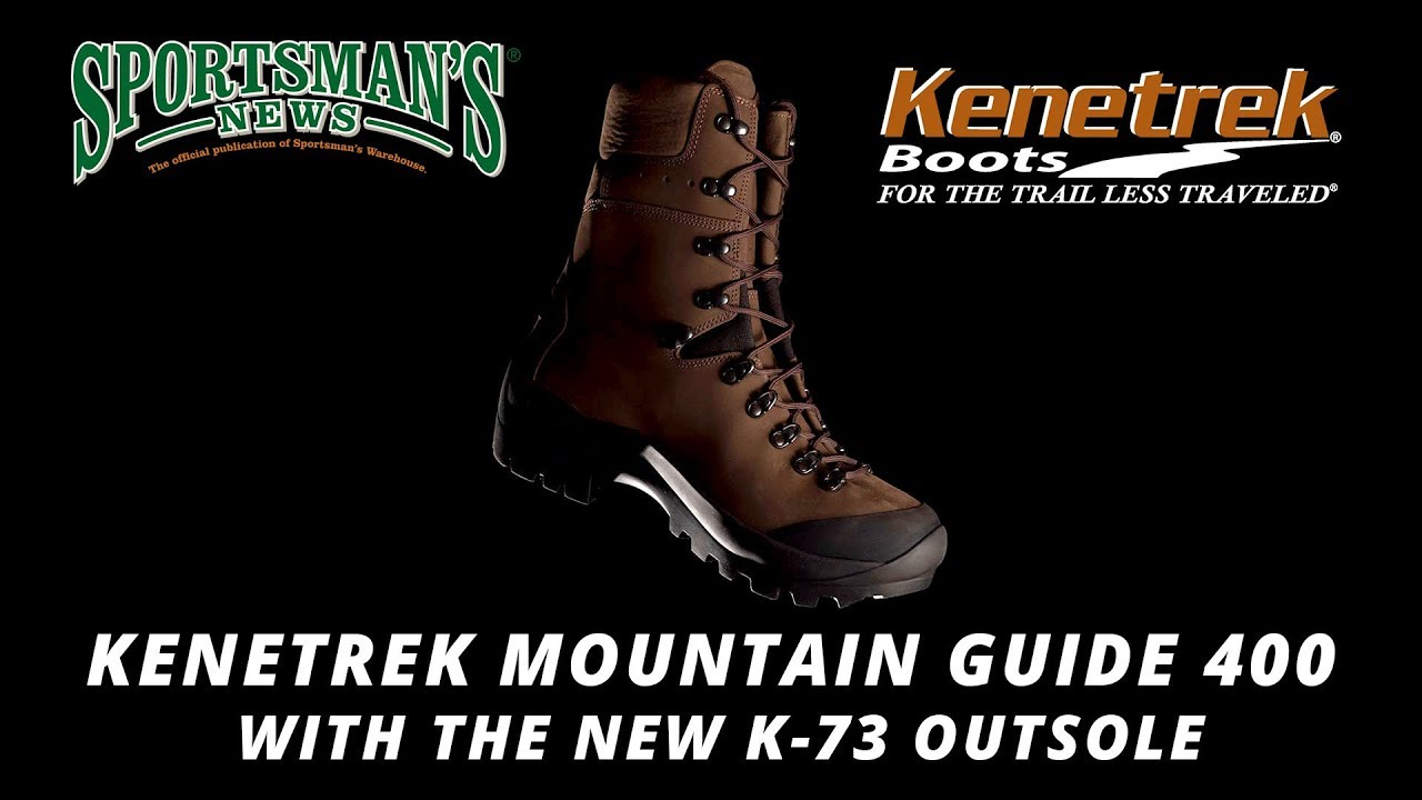 dc106dd9be6 Kenetrek Mountain Guide 400 with the New K-73 Outsole