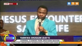 #TARKWA CRUSADE DAY 1 (20TH NOVEMBER 2018)