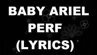"""Baby Ariel - """"Perf"""" (Karaoke Version)"""