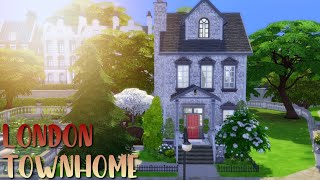 London Townhouse ⛲️// The Sims 4 Speed Build | Collab w/ KiwiGumdrop