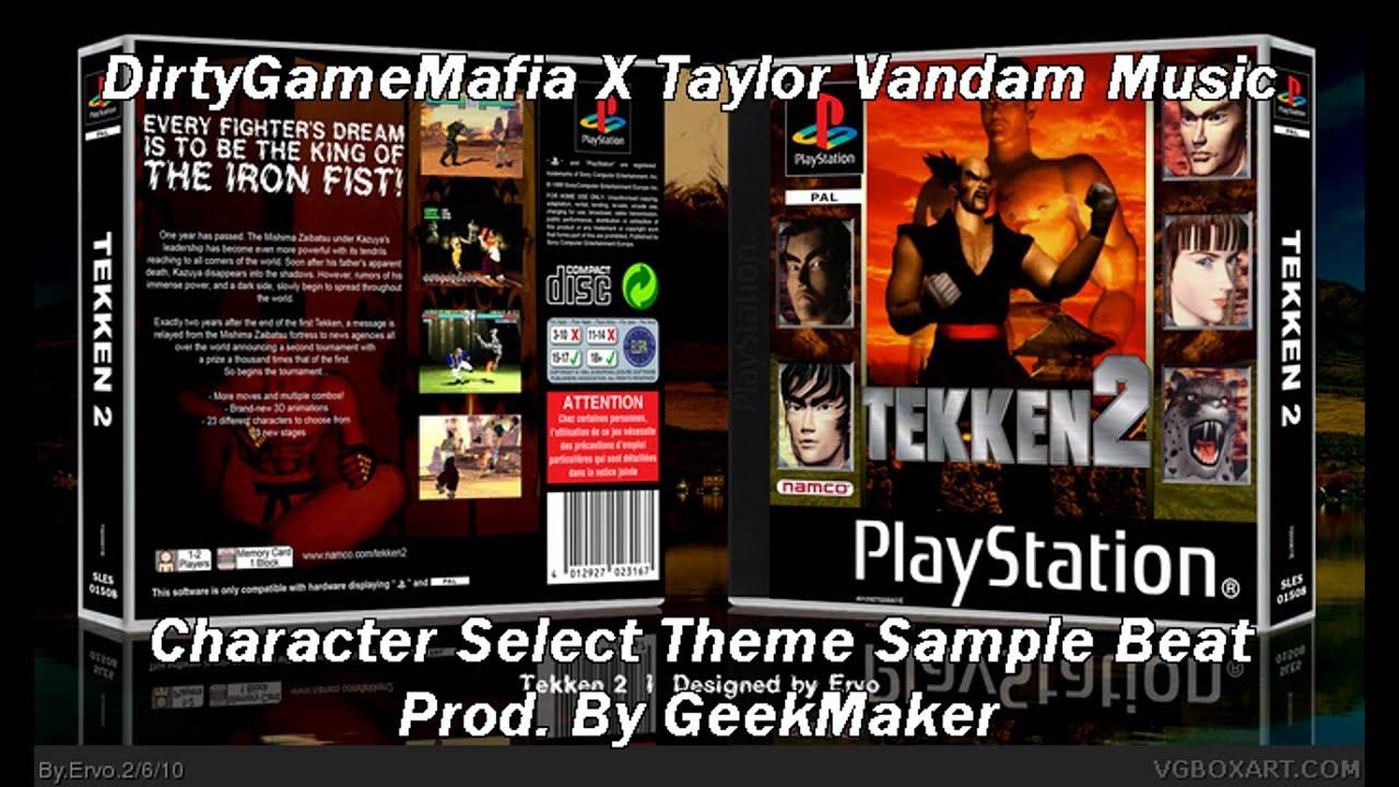 Tekken 2 - Character Select Arcade Version (Remix) - YouTube