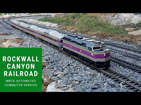 MBTA commuter train push-pull