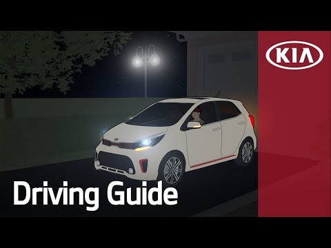 For Safe Driving at Night | Driving Guide | Kia