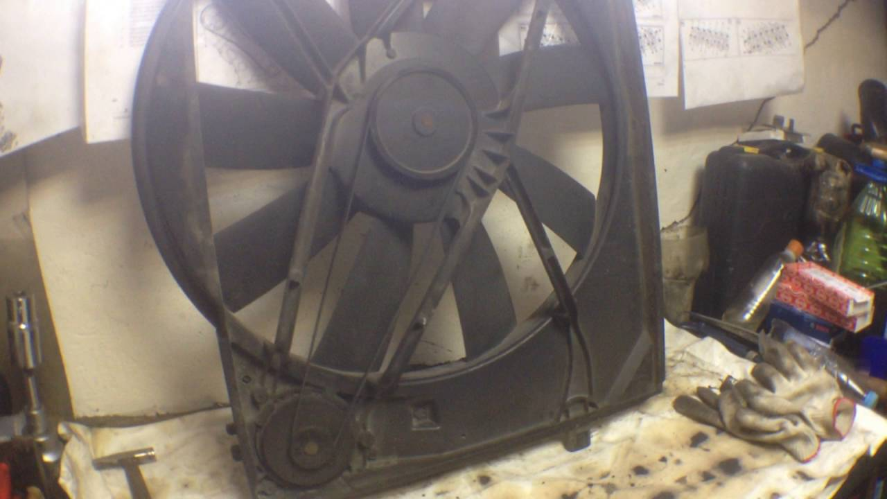 Вентилятор охлаждения ремонт своими руками фото 483