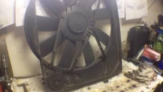 Вентилятор охлаждения мерседес M112-M113(, 2016-05-18T19:56:04.000Z)