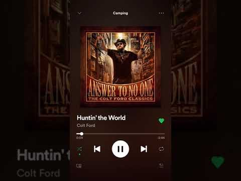 Colt Ford Huntin The World