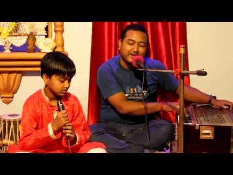 Riturango - ঋতুরঙ্গ - LIVE  Collage Of Rabindra Sangeet Song By - Suman Dhar & Soujatya Dhar