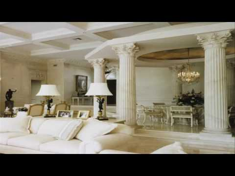 pictures-of-columns-in-living-room