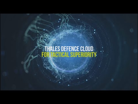 Thales Defence Cloud for tactical superiority